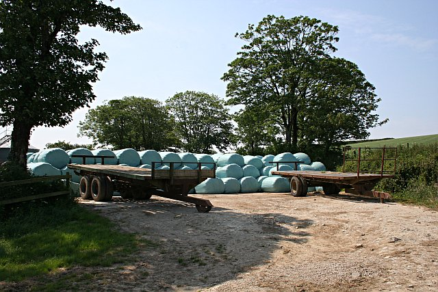 Blue Bales and Trailers