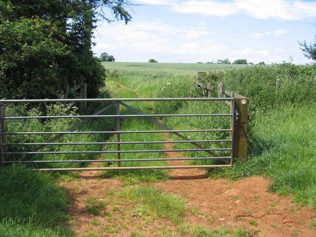 Gateway on the Macmillan Way