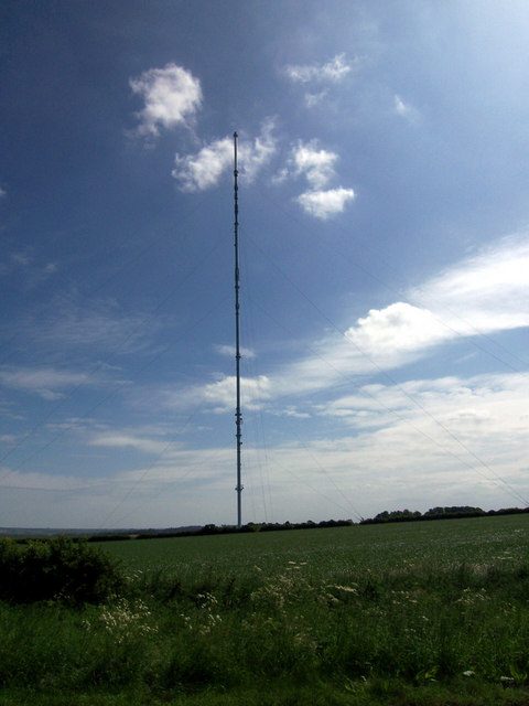 Belmont TV Transmission Mast