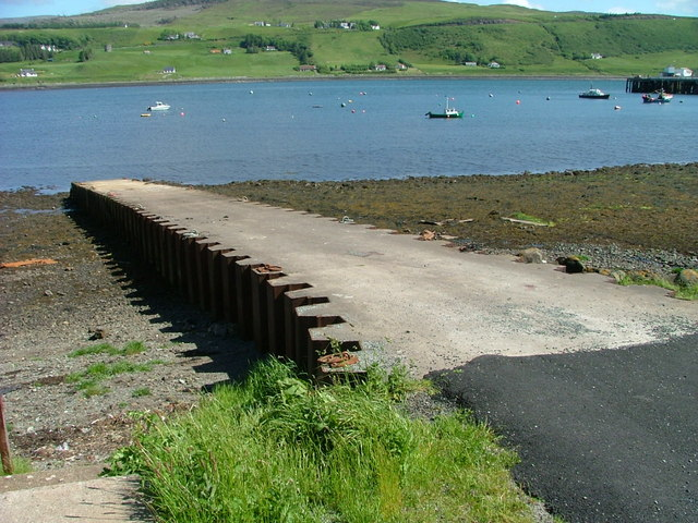 Public Slipway on Uig Bay