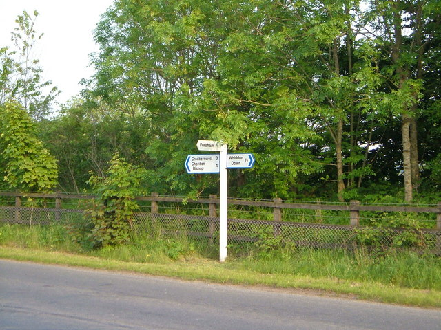 Junction on former A30