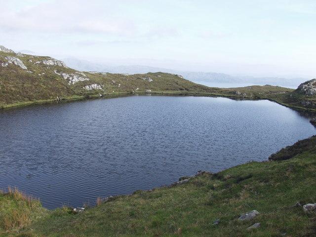 Un-named Lochan near Sgurr an t-Sasunnaich