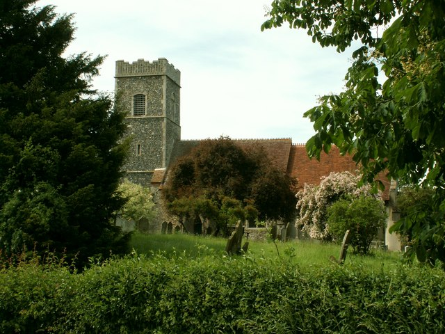 St. Catherine's church, Pettaugh, Suffolk