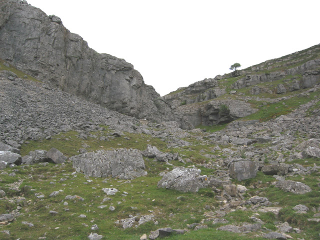 Eglwyseg Crags, above Rock Farm