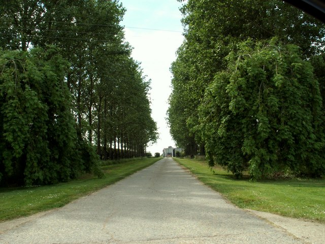 Park Farm approach, Winston Green, Suffolk