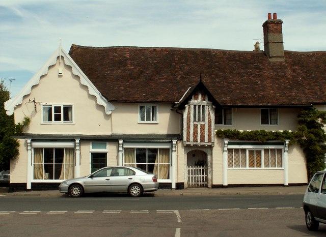 Old house in Debenham, Suffolk