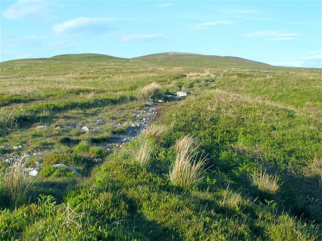 Southwest slope of Tair Carn Isaf