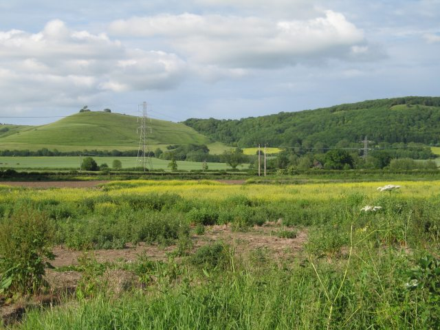 Farmland between Rowde and Roundway
