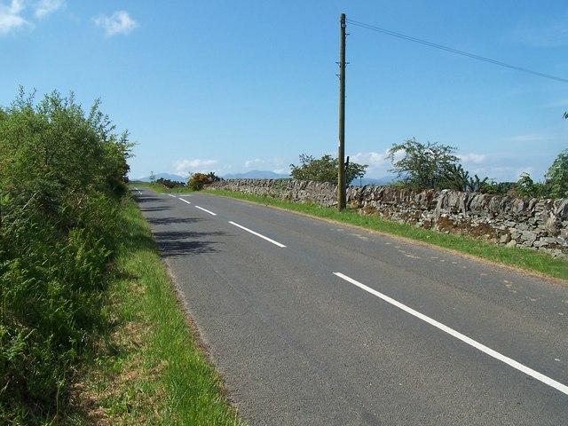 Bute, road above Milton Farm