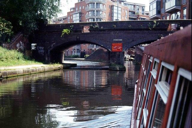 St Vincent Street Bridge, Birmingham Canal Navigations