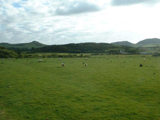 Farmland near Bodsela