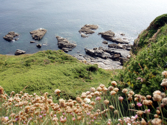 Rocks at Hoe Point