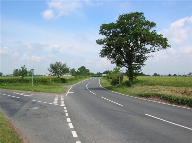 Junction to Beningbrough