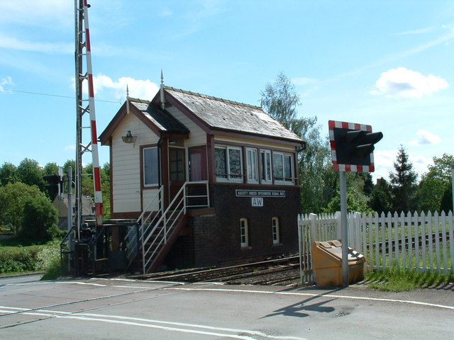 Ascott-under-Wychwood Signal Box