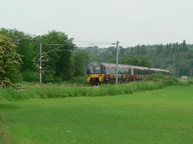 Railway Line by Abbey Gardens, Kirkstall, Leeds