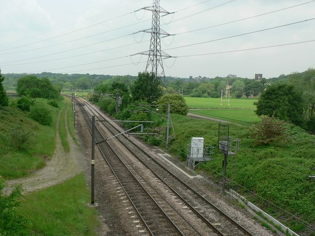 Railway Line from Kirkstall Bridge, Leeds