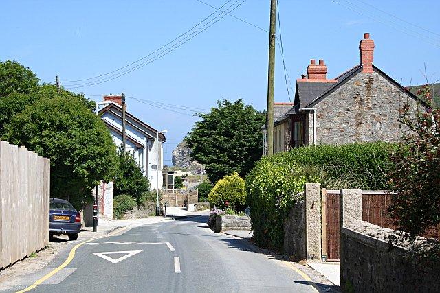Porthtowan Main Street