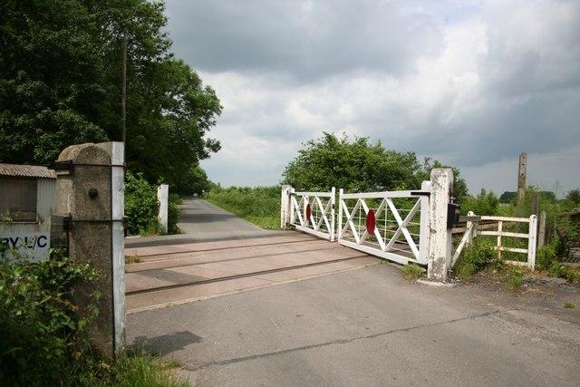 Wickenby level crossing