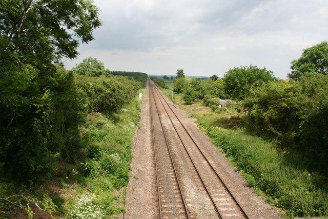 Railway from Snarford Road Bridge