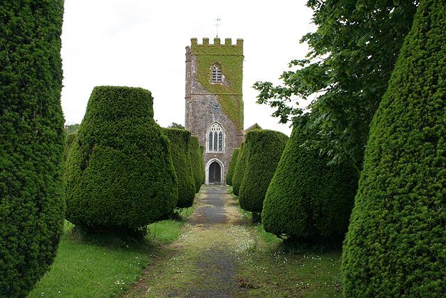 Stoodleigh: churchyard