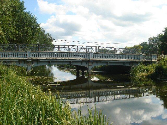 Road bridge over River Stour Bridge Over A River