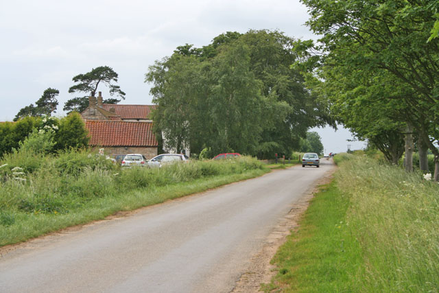 Heath Road near Dunholme, Lincolnshire