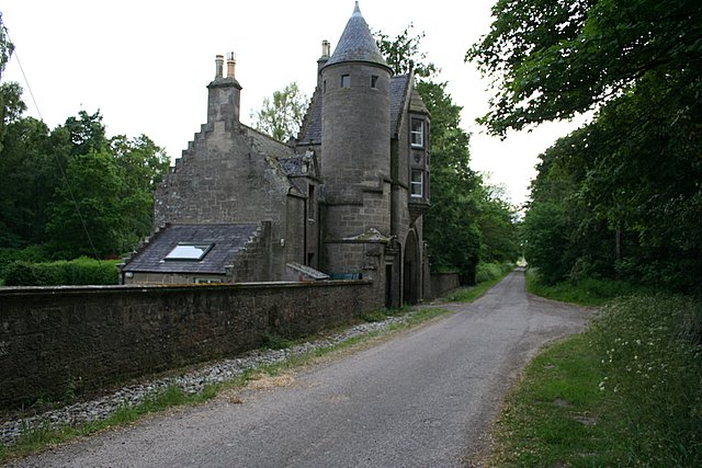 Gatehouse to the north of Innes House.