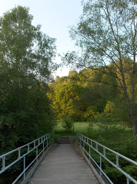 Footbridge, Allan Water