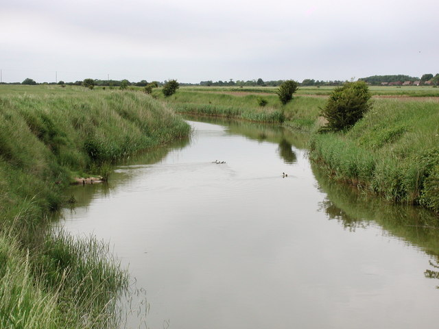 "Winestead Drain near Outstray Farm - birthplace of ""WAGBI"""