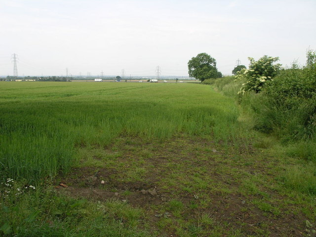 Field With Lorries