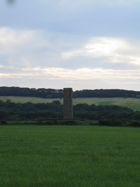 The old water tower near Sandsend