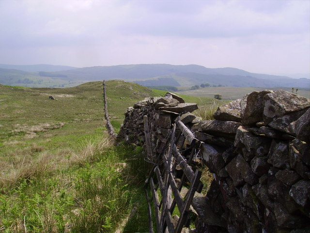 Wall above High Borrans