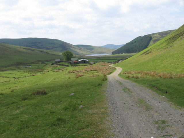 The track to Campshead