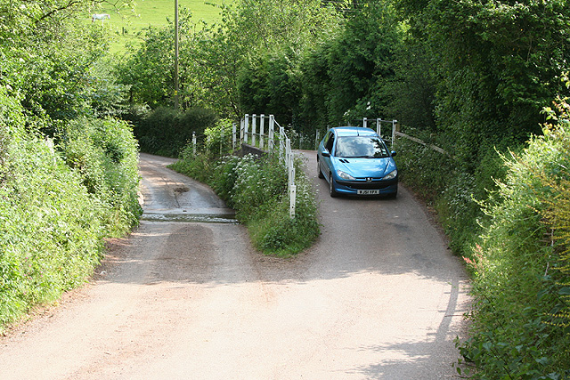 Loxbeare: ford at Lurley
