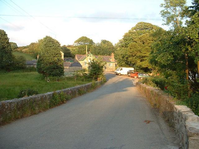 Llaniestyn village