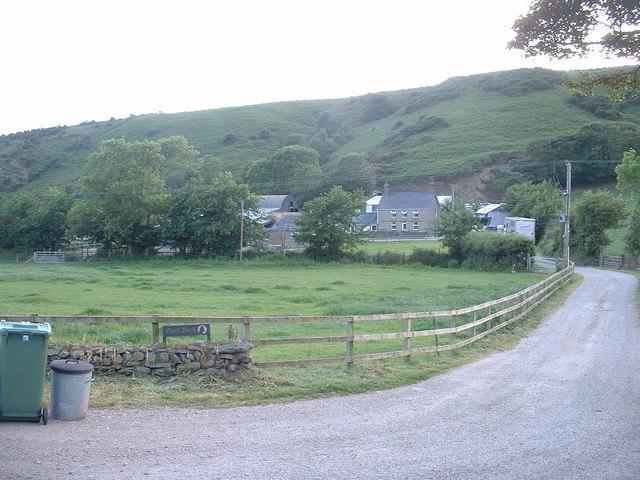 Nant Bach farm