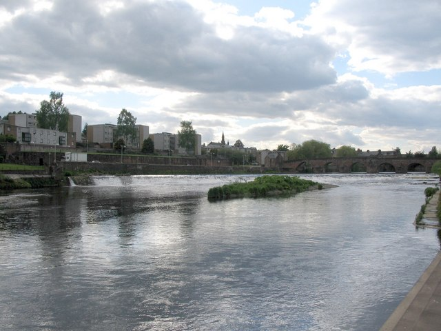 Weir on the River Nith