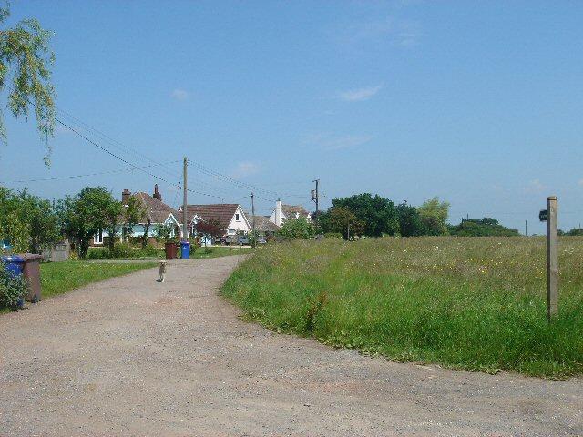 Bridleway to Chevington