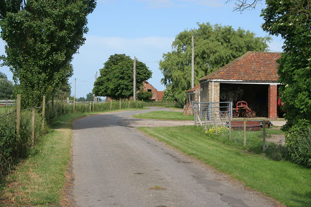 Grange Farm at Swinthorpe, near Snelland