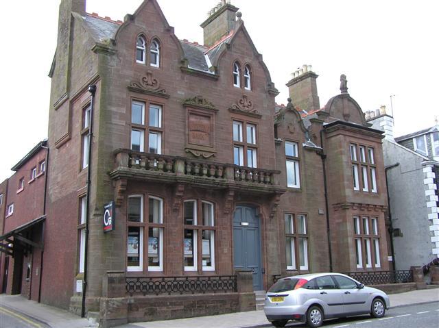 Clydesdale bank, Castle Douglas
