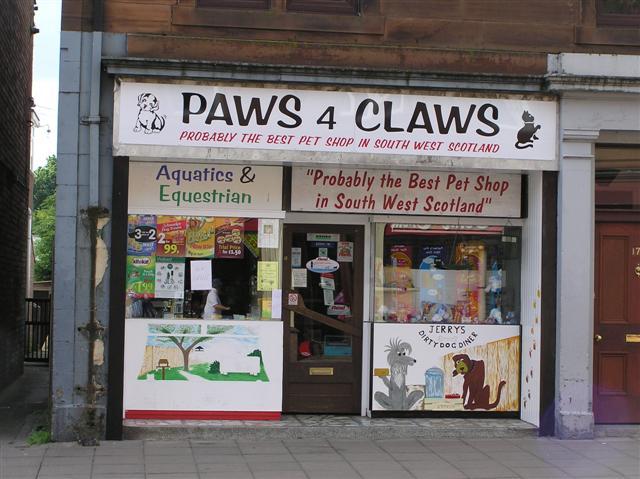 PAWS 4 CLAWS, Castle Douglas