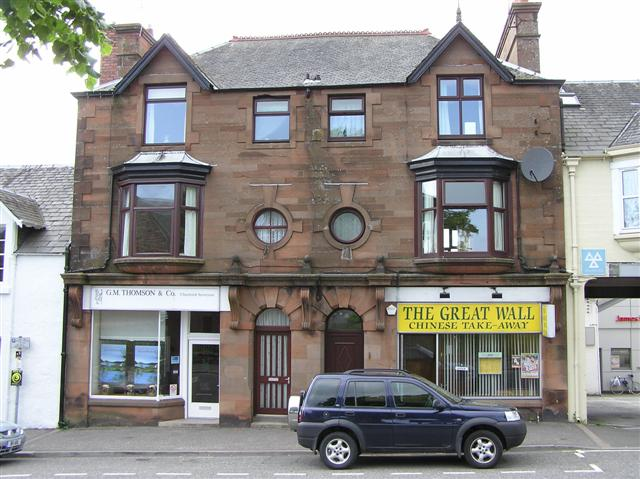 The Great Wall Chinese takeaway, Castle Douglas