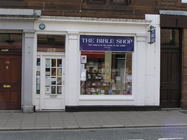 The Bible Shop, Castle Douglas
