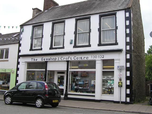 The Gem Shop & Craft Centre, Castle Douglas