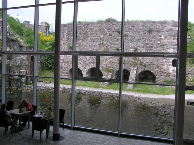 Rheged Visitor Centre looking out