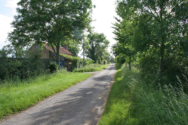 Ashing Lane near Dunholme