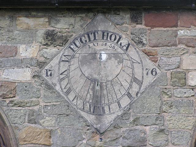 Sundial : St.Peter's , Bishopton.