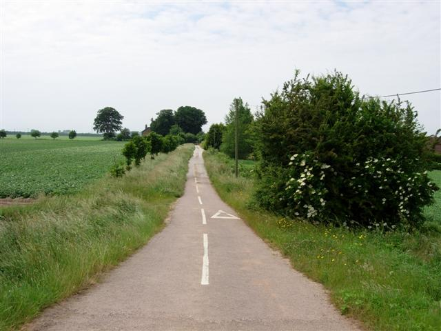 Peterspoint road, near Sutton Bridge