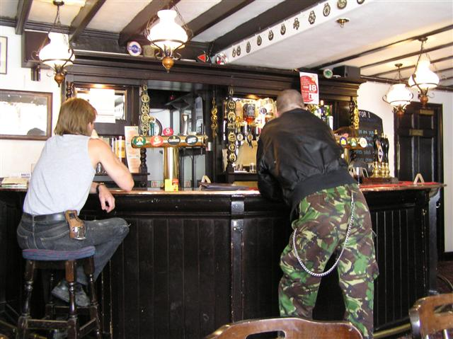 Inside the Coach and Horses, Hexham