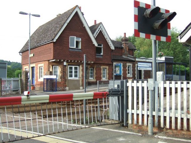 Chilworth Station and Level Crossing